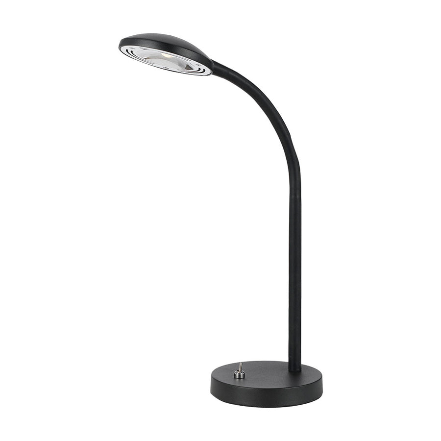 TYLER LED DESK LAMP 6w LED H550 420Lm BLACK - 3000K