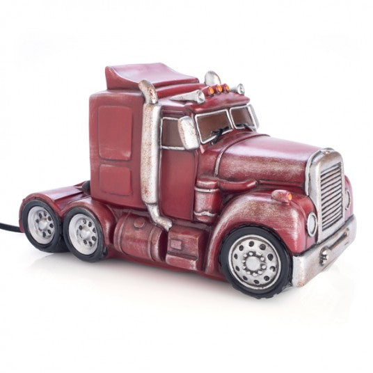 TABLE LAMP TRUCK RED