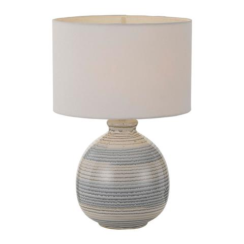 CAREY TABLE LAMP AMBER/WHITE (ES)