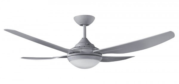 ROYALE II - 52/1320mm ABS 4 Blade Ceiling Fan with 18w LED Light - Titanium - Indoor/Covered Outdoor
