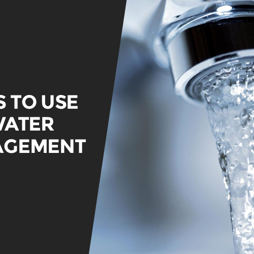 Tools to Use for Water Management