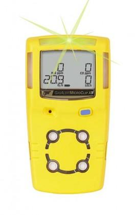 Honeywell BW™ Handheld Meter Yellow Housing - % LEL unfiltered / O2 / H2S / CO Honeywell BW GasAlert Microclip X3 Multi-Gas Detector (%LEL, O2,H2S, & CO)