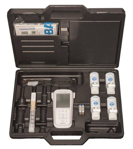 Horiba LAQUAact EC-110K Portable Water Quality Conductivity, Resistivity and TDS Meter Kit - 3999960170