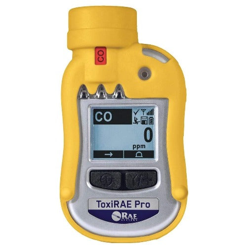 RAE Systems Handheld Meter RAE Systems ToxiRAE Pro CO Single Gas Personal Monitors for Carbon Monoxide (PGM-1860)
