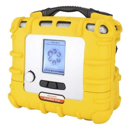 RAE Systems AreaRAE Plus Yellow Portable Gas Monitor - LEL - Oxygen (O2) - Carbon Monoxide (CO) - Hydrogen Sulfide (H2S) - 900 MHz Wireless
