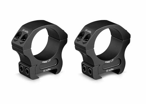 Vortex Optics PR30-M, Pro Series 30 mm Rings