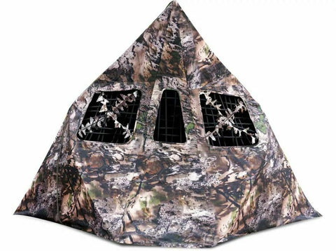New Archery Products 60-030, Mantis 2- Hub Ground Blind Wicked Intent Camo