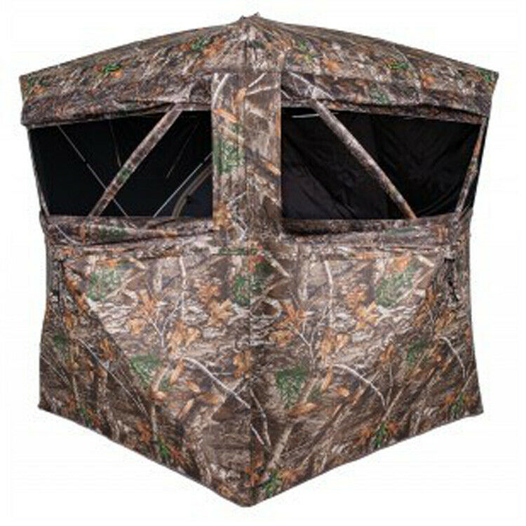 Summit Viper 4 Person Ground Blind Realtree Edge, SU87026