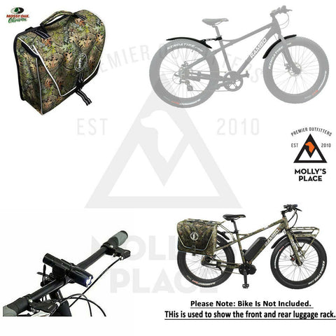 Rambo Bike RA-100 NWTF Bike Accessories Kit In Mossy Oak Obsession