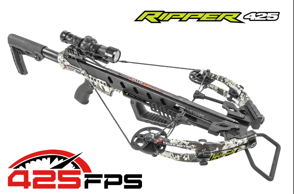 Killer Instinct 1110, Ripper 425 Crossbow Kit