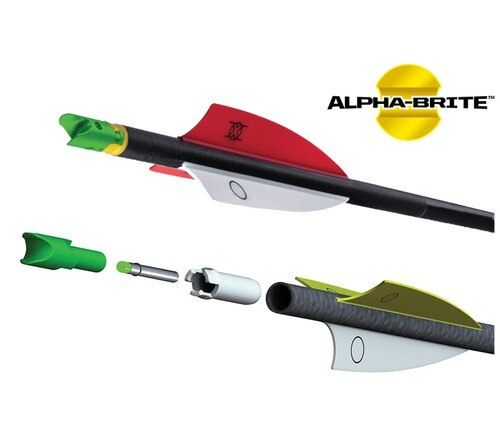 TenPoint HEA-358.3, Alpha-Brite Lighted Nock System, 3 Pack