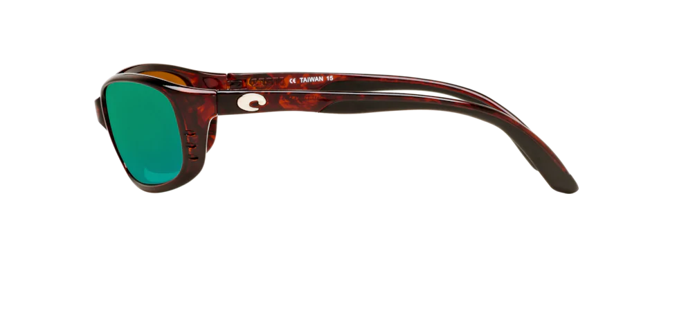 Costa BR10OGMP, BRINE 10 Tortoise with Green Mirror 580P