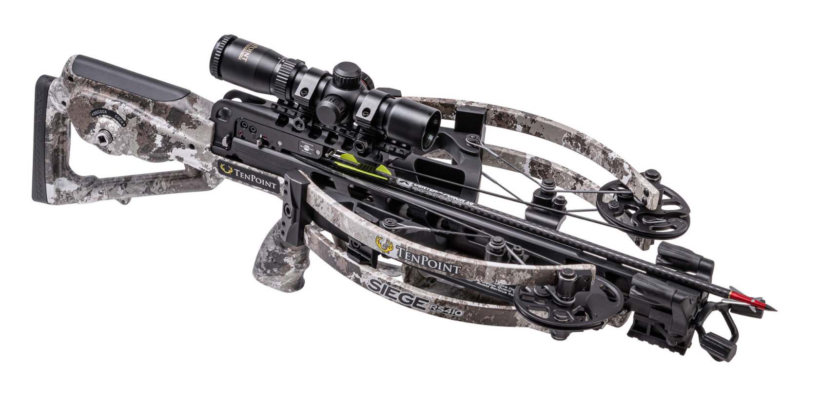 TenPoint CB21012-6819, Siege RS410 Crossbow Package, Veil Alpine