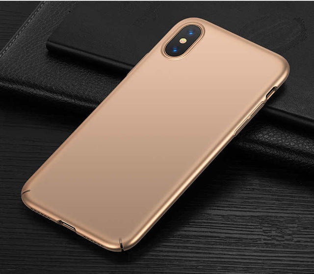 Luxury Ultra Slim iPhone X Case