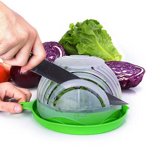 Updated 60 Seconds Salad Bowl Cutter