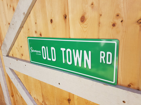 Old Town Road Sign