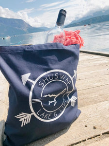 Shuswap Badge Canvas Tote (NEW!!)