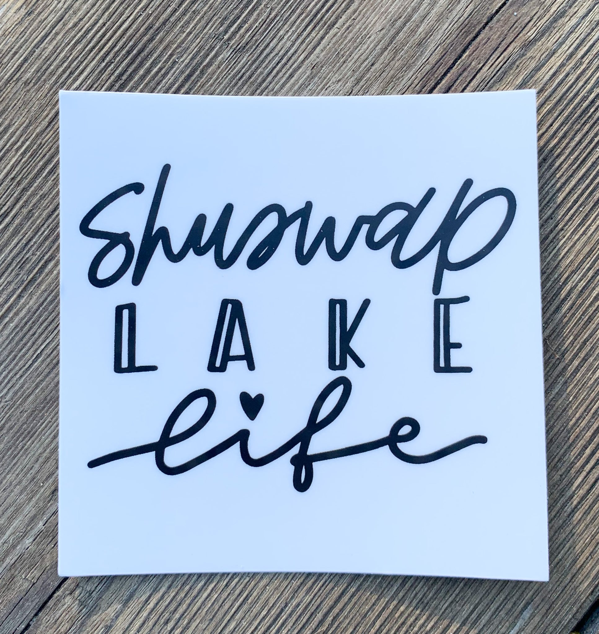 Shuswap Lake Life Sticker