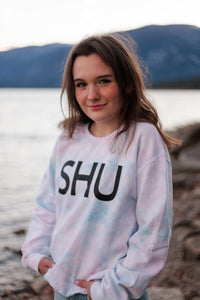 SHU Crew -  Unisex Cotton Candy Tie Dye!  (NEW LIMITED EDITION!)