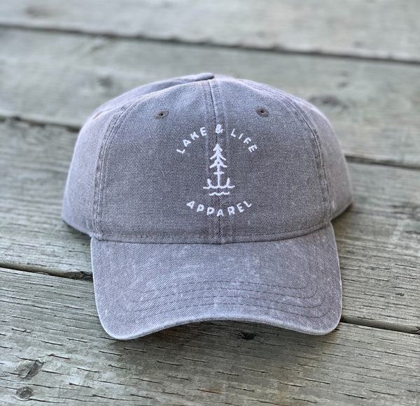 Lake & Life Signature Logo Baseball Hat (NEW!)