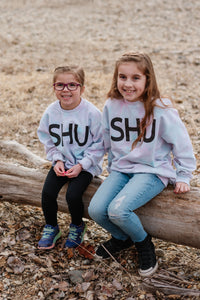 SHU Crew - Youth Cotton Candy Tie Dye!  (NEW LIMITED EDITION!)