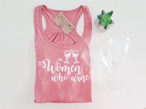 Women Who Wine Collaboration Tank