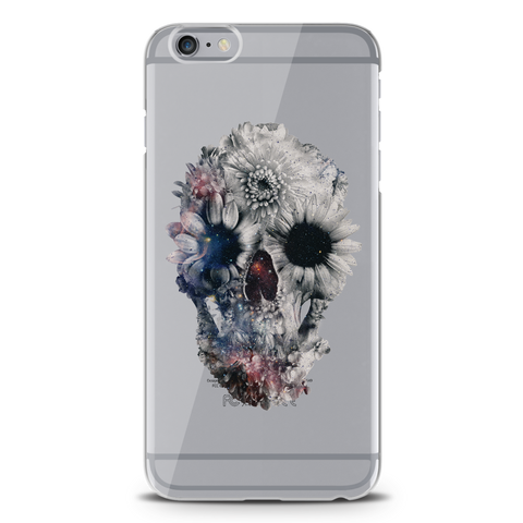 Skull Floral Clear Case for iPhone 6/6S