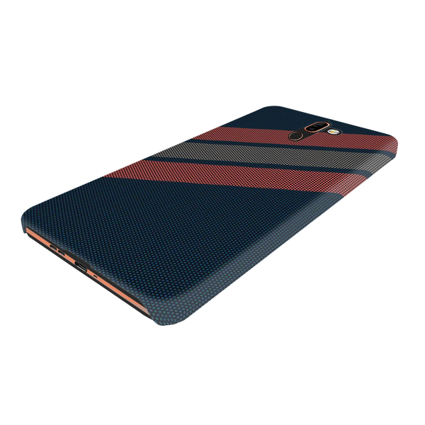 Red Stripes Dots  Cover Case for Nokia 7 Plus