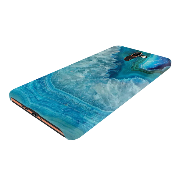 Blue Agate Cover Case for Nokia 7 Plus