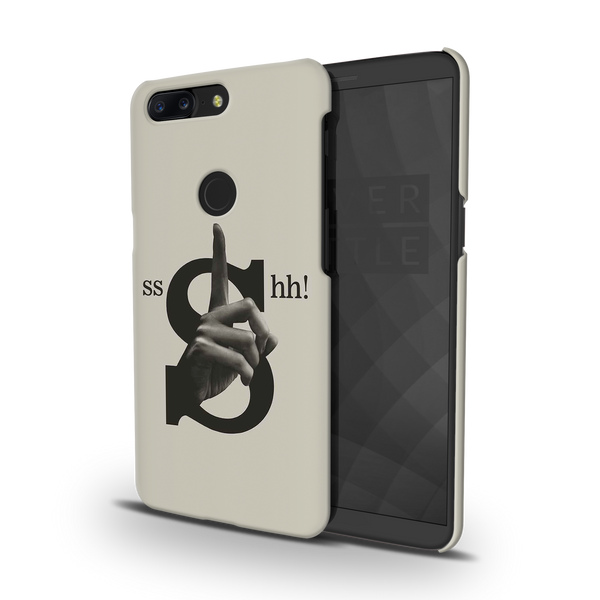 Shh Cover Case For OnePlus 5T