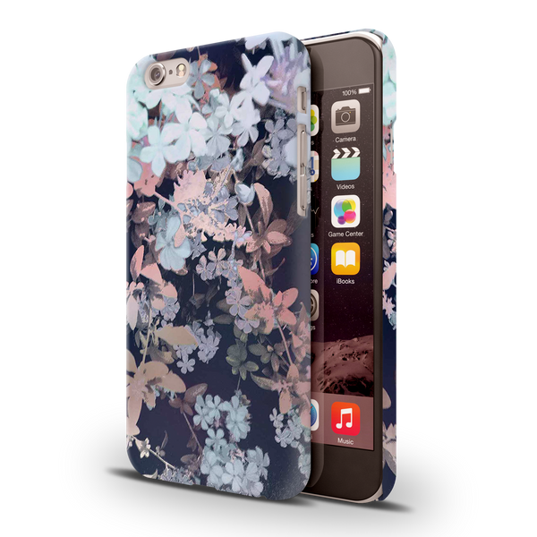 Night Flowers Case Cover for iPhone 6/6S