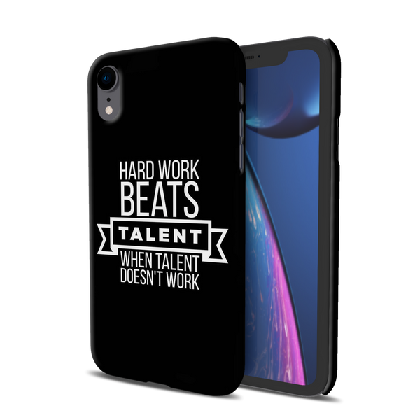 Hard Worker Cover Case For iPhone XR