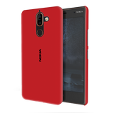 Blood Red Cover Case For Nokia 7 Plus