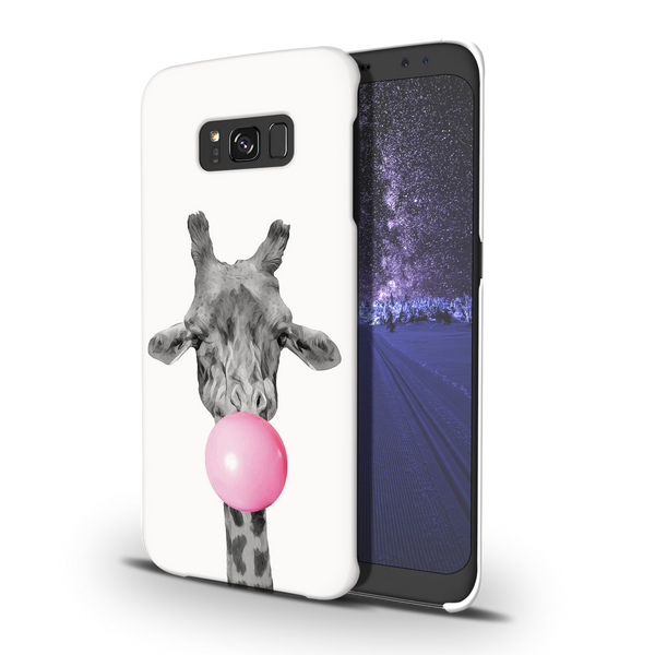 Bubble Giraffe  Cover Case For Samsung Galaxy S8