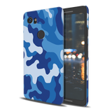 Blue Abstract Camouflage  Cover Case For Google Pixel 2 XL