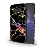 Dramatic black Marble Cover Case For Samsung Galaxy S8 Plus