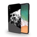 Grey Splash Cover Case For iPhone XS