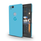 Sky Blue Cover Case For Google Pixel 2