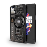 Vintage Camera Cover Case For OnePlus 5