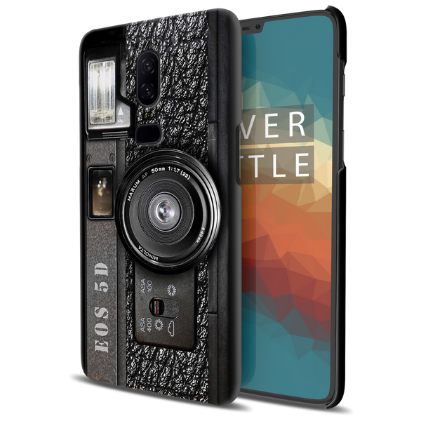 Vintage Camera Cover Case For OnePlus 6