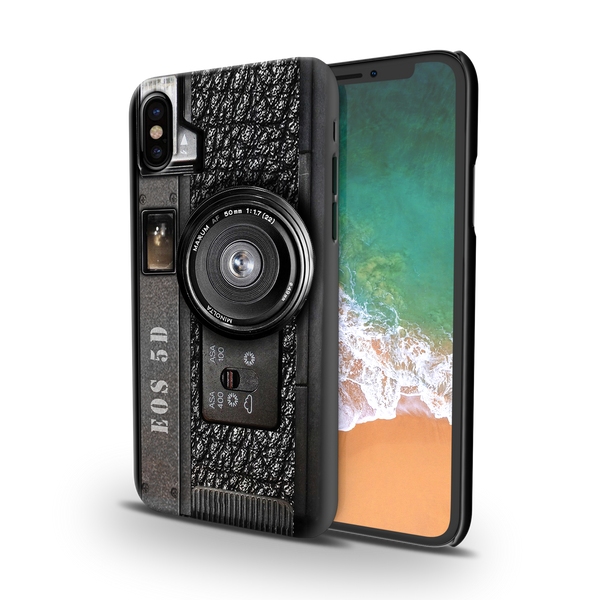 Vintage Camera Cover Case For iPhone X