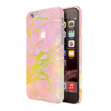 Lovely Pink Marble Cover Case For iPhone 6/6S