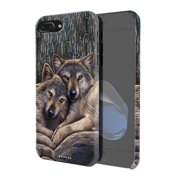 Wolf Cover Cases For iPhone 7/8 Plus