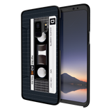 Acoustic Cassette Cover Case For Samsung Galaxy S9