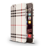 Brown Check Design Cover Case iPhone 6/6S
