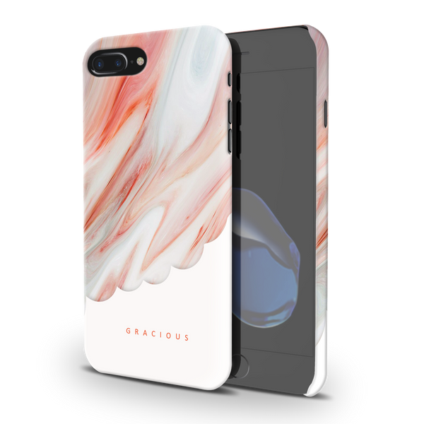 Gracious Marble Cover Case For iPhone 7/8 Plus