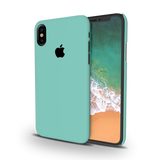 Turquoise Cover Case For iPhone X