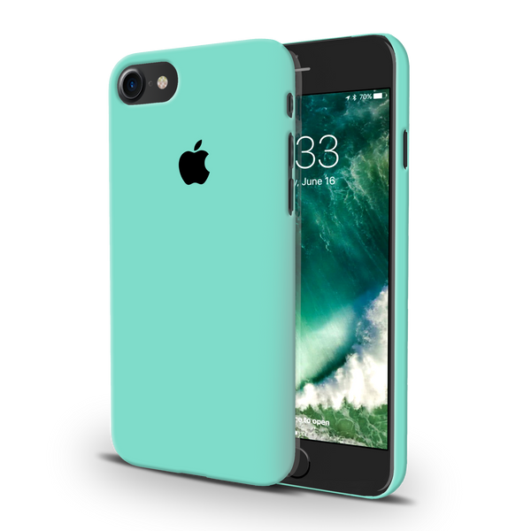 Turquoise Cover Case For iPhone 7/8