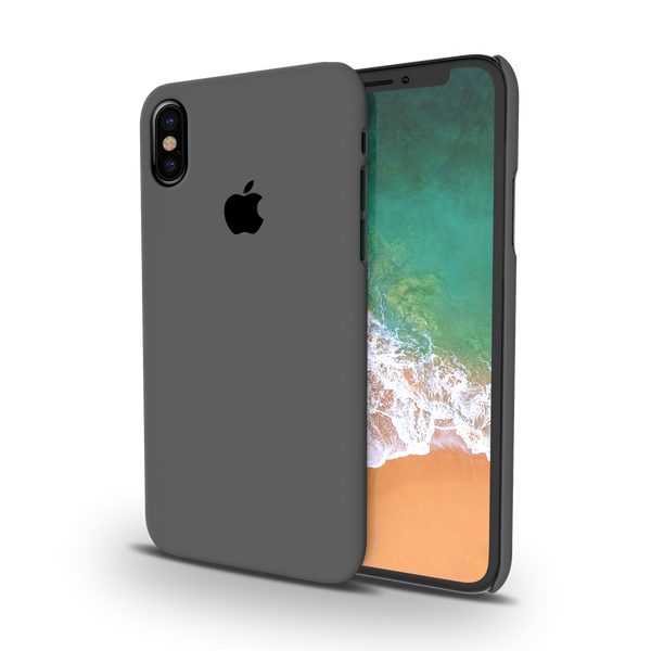 Grey Cover and Case For iPhone X