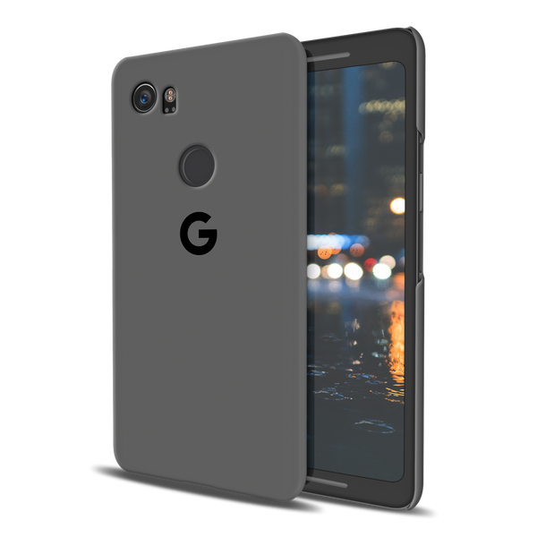 Grey Cover Case For Google Pixel 2 XL